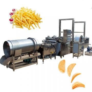 Vegetable Potato Chip Washing Peeling Cutting Slicer Conbined Machine
